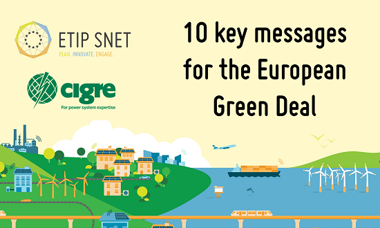 European Green Deal - 10 key messages from the Energy Sector